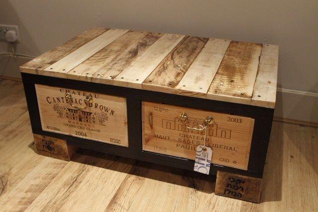 44 best images about Caisse de vin on Pinterest Wine crate table - construire un bar de cuisine