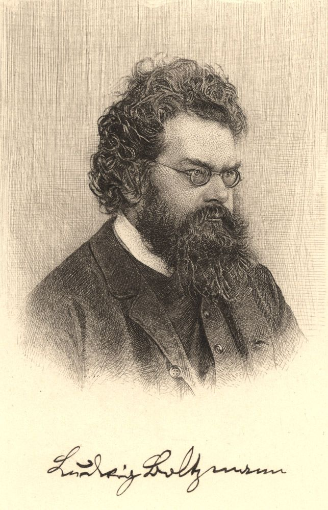 Portrait of Ludwig Boltzmann