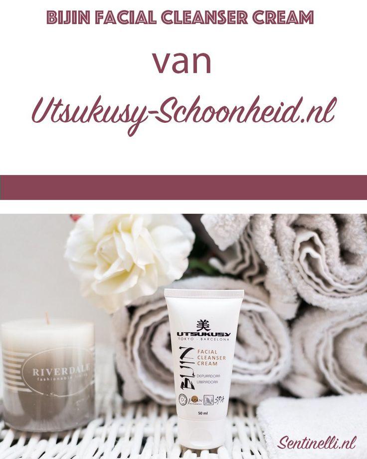 Bijin Facial cleanser cream van Utsukusy-Schoonheid.nl. Utsukusy-schoonheid.nl is een natuurlijke cosmetica webshop. Utsukusy betekent schoonheid, zuiverheid en kwaliteit in het Japans en utsukusy-schoonheid.nl heeft prachtige salonbehandelingen en effectieve, natuurlijke huidverzorgingsproducten voor thuisgebruik gebaseerd op Japanse schoonheidsrituelen. In dit artikel laat ik de Bijin Facial cleanser cream zien.