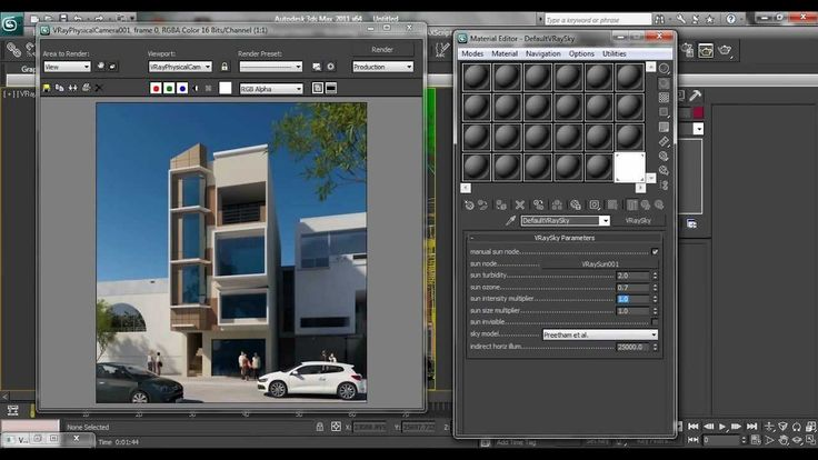 This is my simple settings in 3dsmax using vray. For all beginners in 3dsmax , this the basic way to light up your exterior scene in a simple way. Can you vi...