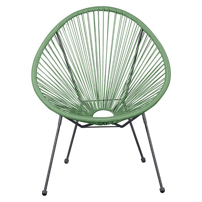 Relaxsessel Elisabeth 76 Cm Kunststoff Grun Stuhl Grun Gartensessel Sessel