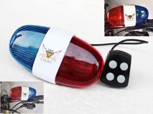 Details about Wonder Elec Police Siren Bike LED Light for