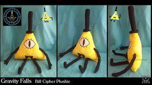Gravity Falls - Bill Cipher Plush by TheCreatorsEye