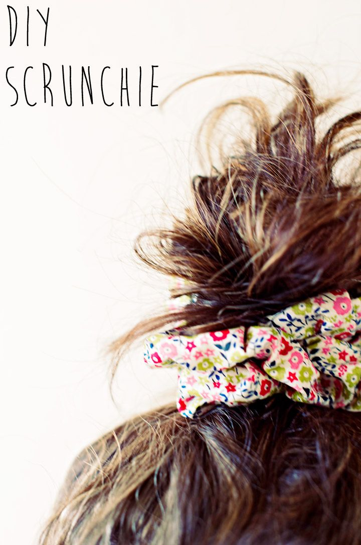 Whether you're all about the throwback for Halloween or sincerely miss your scrunchies, here's a #DIY for these 90's beauty staples!