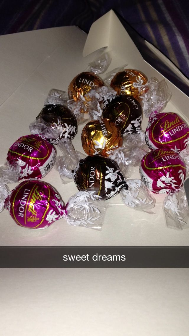 Lindt chocolates