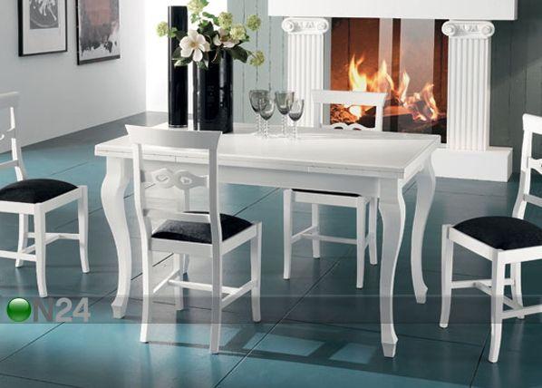 Jatkettava ruokapöytä ICARO 80x140-220 cm MA-42492 (on24.fi)