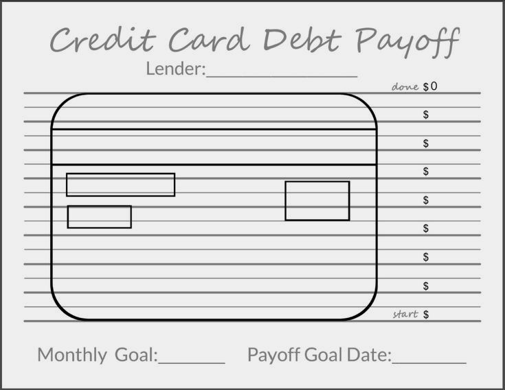 Tracking Your Debt Goals Paying Down Credit Cards Ideas Of Paying Down Credit Cards Payingdowncred Credit Card Debt Payoff Debt Payoff Credit Card Tracker