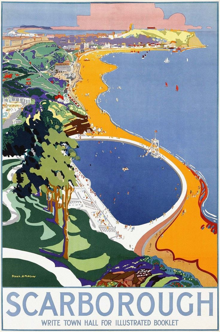 Scarborough 1930 poster