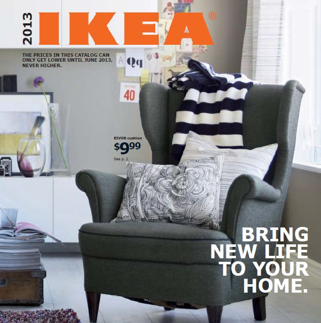 New IKEA catalog 2013: Available online