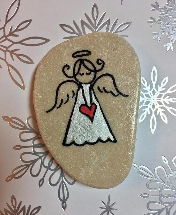 Der Engel in My Pocket: halten Sie diese kleinen Stein in Ihrer Tasche oder Handtasche als tägliche Erinnerung an die Liebe Gottes für Sie! Geben Sie dieser besondere Engel, ein Kind, Freund oder geliebten Menschen für Ermutigung und ein Ausdruck des Glaubens. Die Pocket-Rock ist auch