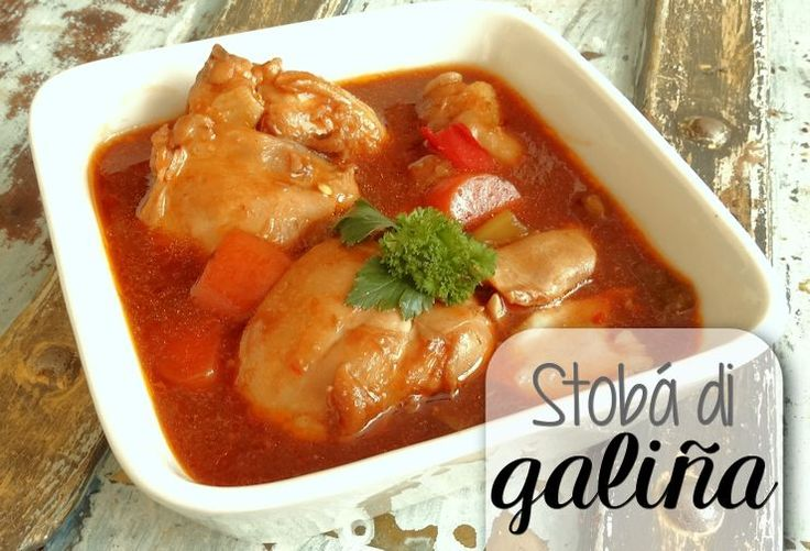 Kip is en blijft de meest gegeten soort vlees op de Antillen. Het is goedkoop, makkelijk en snel te bereiden vlees. En niet te vergeten heel smakelijk! Deze stobá is één van de bekendste bereidinge…