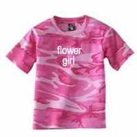 Personalized Camouflage Flower Girl T-Shirt  from Advantage Bridal  www.advantagebridal.com  877-933-7467     Please mention that you found them thru Jevel Wedding Planning's Pinterest Account.    Keywords: #chamoweddingaccessories #jevelweddingplanning Follow Us: www.jevelweddingplanning.com  www.facebook.com/jevelweddingplanning/