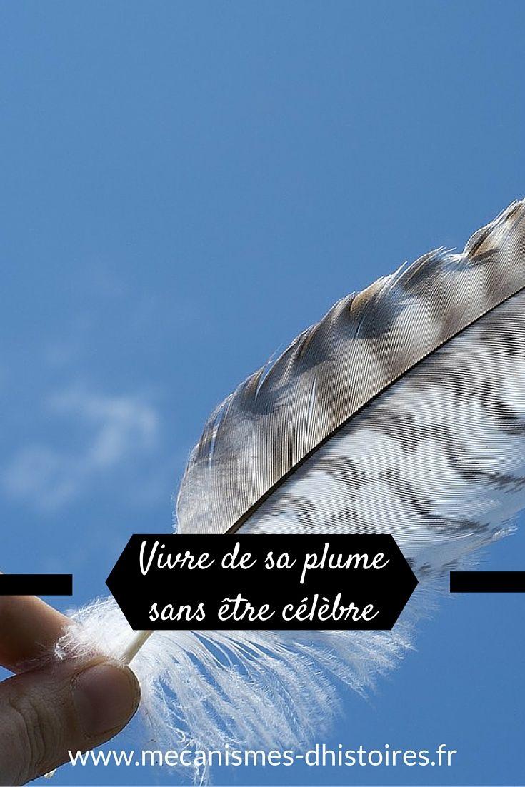 Cinq solutions concrètes pour vivre de sa plume même sans célèbre. #writing