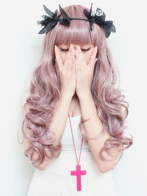 patel hair | pastel hair pink