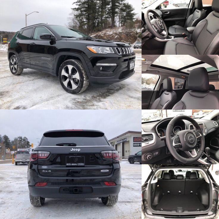 2018 'Diamond Black Crystal' Jeep Compass North 4x4