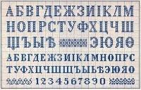 cyrillic alphabet cross-stitch patterns. книга съ узорами (Book with Patterns). к. герке (K. Gerko). мануфактура вышивокъ (Manufacture Embroidery). рига и митавасс (Riga and Mitava - Jelgava after 1917).