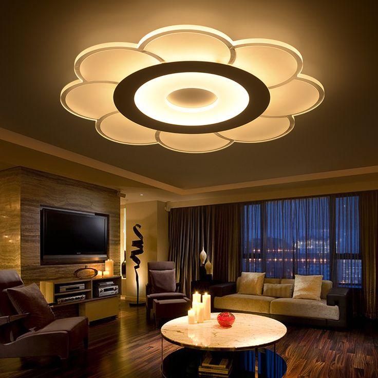 modern aydnlatma kristal tavan ik cilas de teto 27 satn kalite tavan klar dorudan in tedarikilerden 110 220v acrylic ceiling lights - Ceiling Lights For Living Room