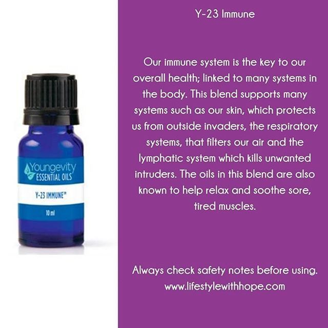 Y-23 to help boast your immunity during this cold winter months! For more information about this essential oil, or any of the other essential oils in the #youngevity family, check out my blog at www.lifestylewithhope.com #tobeloved