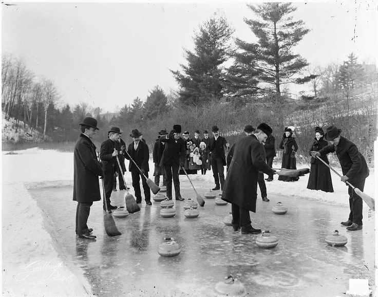 Christmas Curling on Grenadier Pond