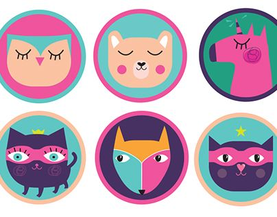 """Check out new work on my @Behance portfolio: """"Mirrors for children"""" http://be.net/gallery/32656149/Mirrors-for-children"""