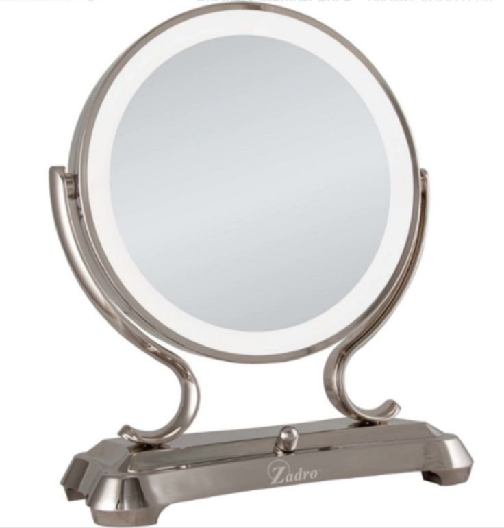 Glamour Round Vanity Mirror Framed Freestanding Surround Light Florescent Tap the link now to see where the world's leading interior designers purchase their beautifully crafted, hand picked kitchen, bath and bar and prep faucets to outfit their unique designs.