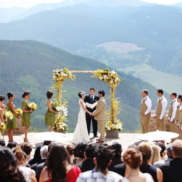 A Summer Wedding In Vail Wedding Vail Colorado Wedding Venues Mountain Top Wedding