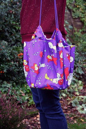 Casper & Wendy Bag from Handmade Bags in Natural Fabrics by Emiko Takahashi