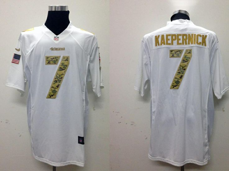 7188f0806 ... limited olive camo 2017 salute to service nfl jersey szrbl 682fb b29fb;  france san francisco 49ers 7 colin kaepernick drift jersey 2015 nike 5bc7a  89728