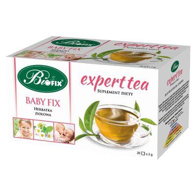 Expert tea BABY FIX Suplement diety Herbatka ziołowa ekspresowa