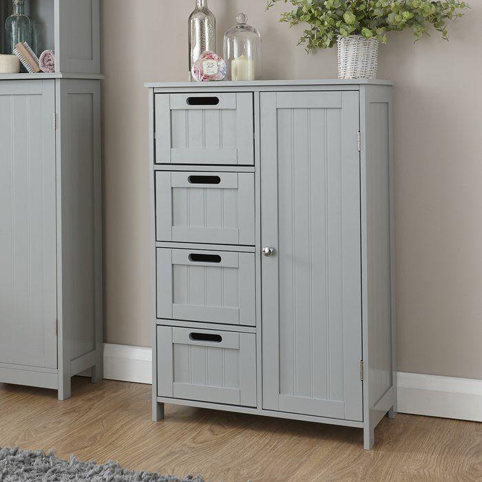 55x82cm Freestanding Cabinet Bathroom Storage Units Bathroom