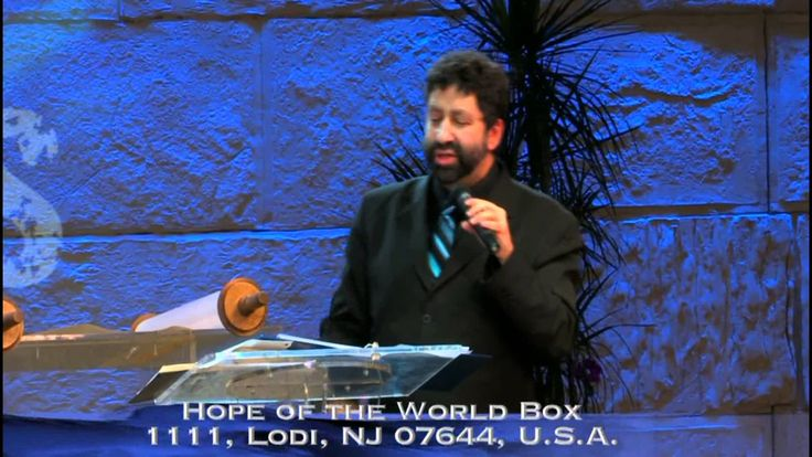 THE MYSTERY OF THE SEVEN TRUMPETS - Jonathan Cahn speaking at the Jerusalem Centre, Wayne, N.J. (8.10 min)