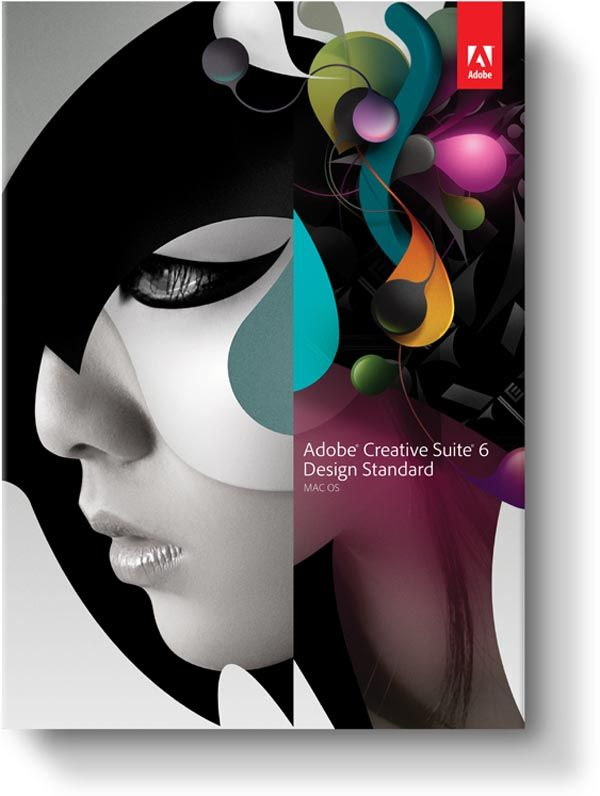 Main Image Illustration for Adobe CS6 Design Standard by Non-Format
