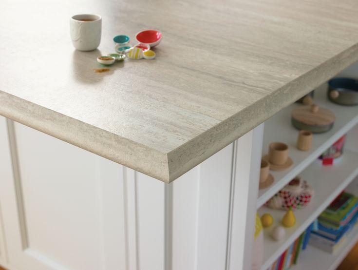 Travertine Countertops : Formica? Travertine Silver 180fx? #Kitchen #Countertop 180fx ...