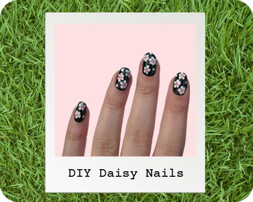 DIY Nail Art Guide: Daisy Nails! Fabulous floral is the trend we're nailing! If you recreate the look, be sure to tweet us on the #companynailart hashtag!