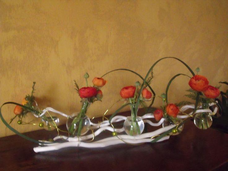 Les 25 meilleures id es de la cat gorie centres de table for Composition florale exterieur hiver
