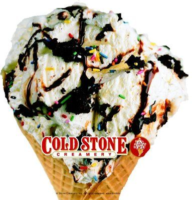 Cold Stone Creamery (Canton, MI) - favorite flavor is Birthday Cake Remix