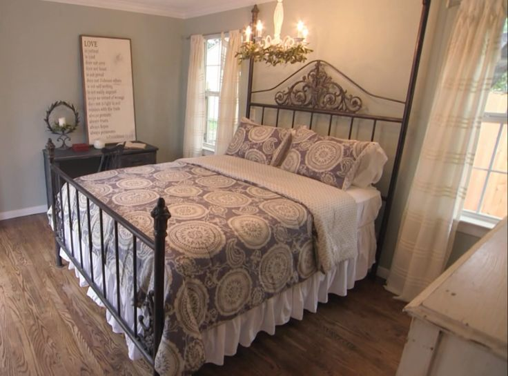 41 best images about mccall story s1e8 on pinterest Fixer upper master bedroom pictures