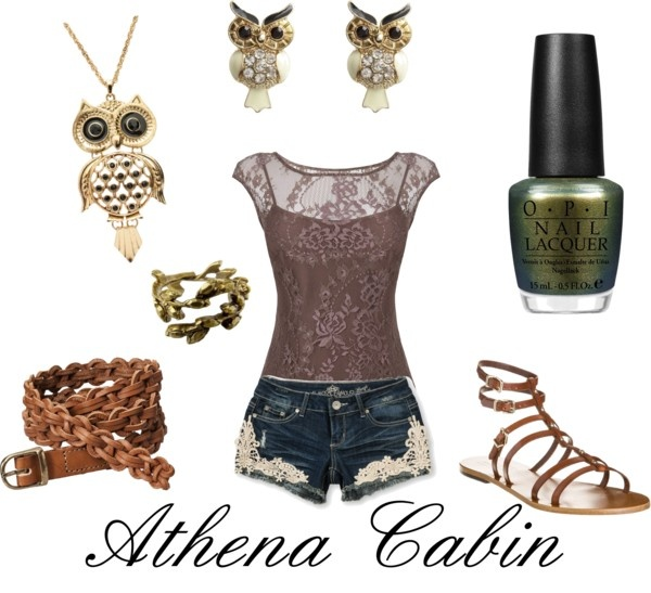 """""""Athena Cabin"""" by shadowphoenix on Polyvore I don`tr really like Athena but I love this outfit"""