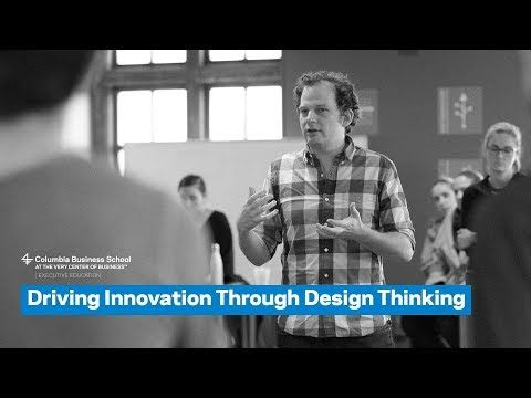 Driving Innovation Through Design Thinking Youtube Change Mgmt Design Thinking Human Centered Design Design