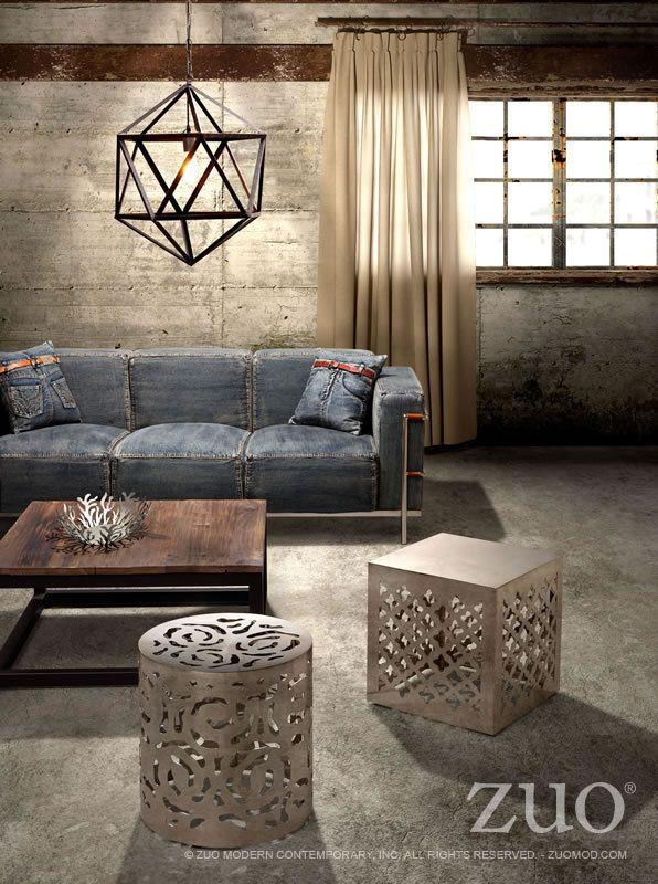 Marvelous Zuo Modern Lasso Sofa
