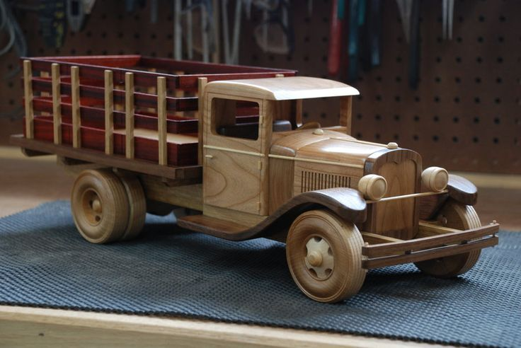 1929 Ford Stakebed Truck - by WoodScrap @ LumberJocks.com ~ woodworking community