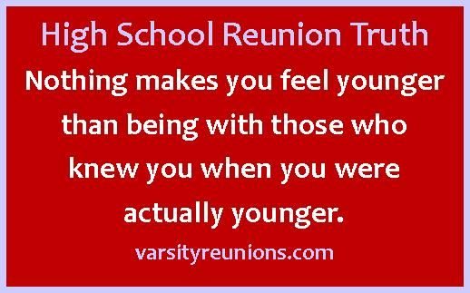 Reunion Quotes And Sayings: Nothing Makes You Feel Younger Than Being With Those Who