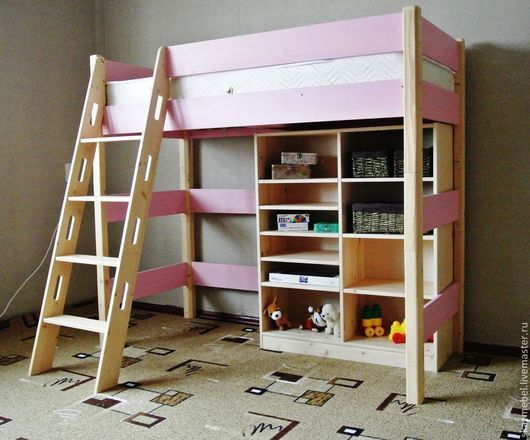 Детская ручной работы. Стеллаж для книг и игрушек средний. Сказочное дерево (мебель для детей). Ярмарка Мастеров. Мебель ручной работы