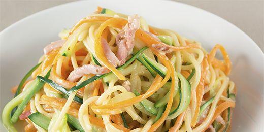 Spaghetti Carbonara the Healthy Way