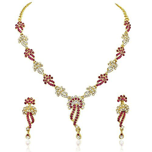 Stunning Indian Bollywood Pink Stone Cz Wedding & Party W... https://www.amazon.com/dp/B06Y5HDDD1/ref=cm_sw_r_pi_dp_x_xVY9ybBZTQASX