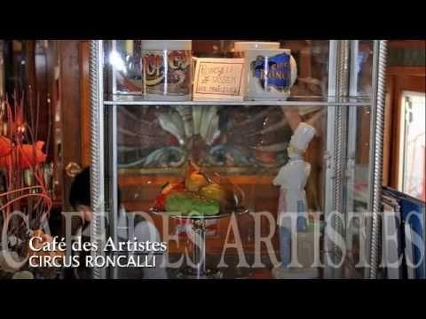 CAFÉ DES ARTISTES im Circus Roncalli
