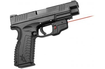 Crimson Trace Springfield Armory XD/XDm-Accu-Guard Defender series, Black DS-123