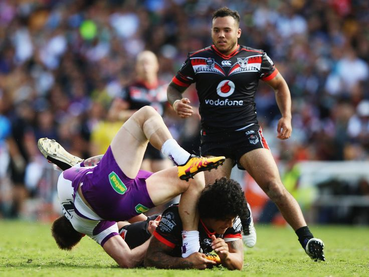 Warriors prop James Gavet has escaped charge and an appointment with the NRL judiciary after being placed on report for a dangerous tackle in Sunday's loss to Melbourne Storm. - New Zealand Herald