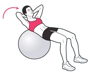 5 stability ball ab exercises. Basic but effective.