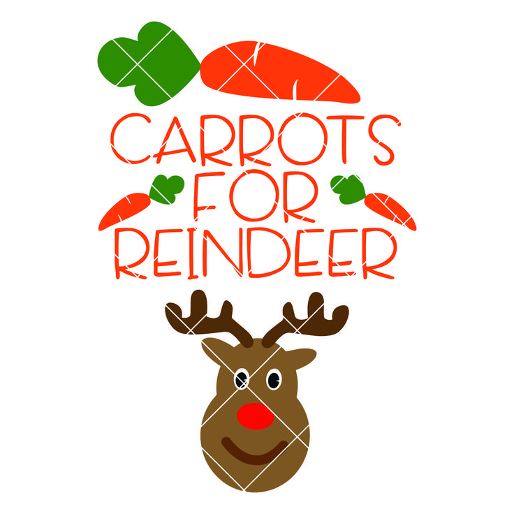 Download Carrots for Reindeer SVG | Christmas svg, Svg files for cricut